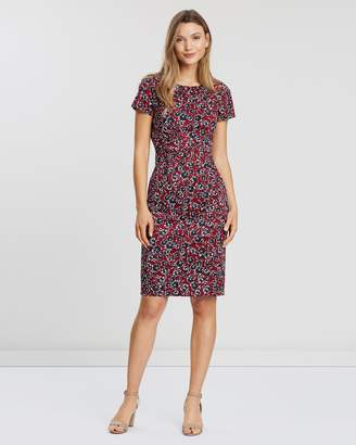 French Connection Alletea Cotton Fitted Dress