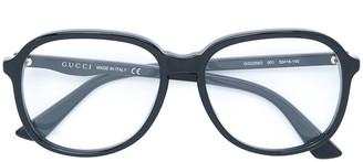 Gucci oversized glasses