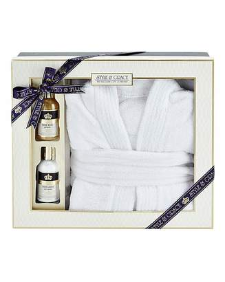 Style & Grace Signature Bathrobe Gift Set