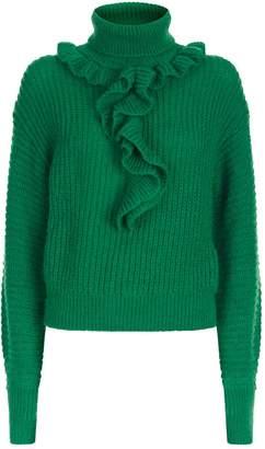 Kenzo Ruffle Knitted Sweater