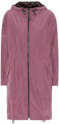Brunello Cucinelli Long hooded jacket