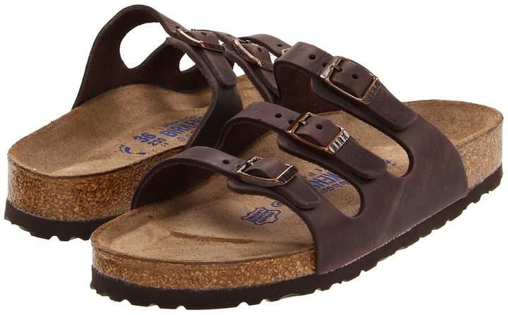 Birkenstock - Florida Soft Footbed - Leather Women's Sandals
