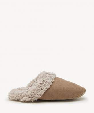 Sole Society Faux Suede Slippers