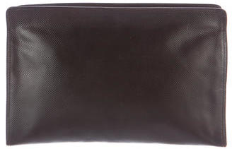 Bottega Veneta Bottega Veneta Textured Leather Cosmetic Bag