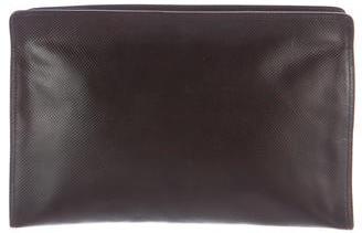 Bottega VenetaBottega Veneta Textured Leather Cosmetic Bag