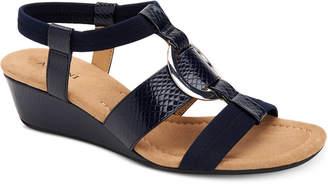 Alfani Women's Vennice Wedge Sandals, Created for Macy's Women's Shoes