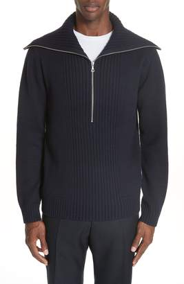 Dries Van Noten Mikhos Half Zip Sweater