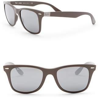 Ray-Ban Liteforce Polarized 52mm Wayfarer Sunglasses