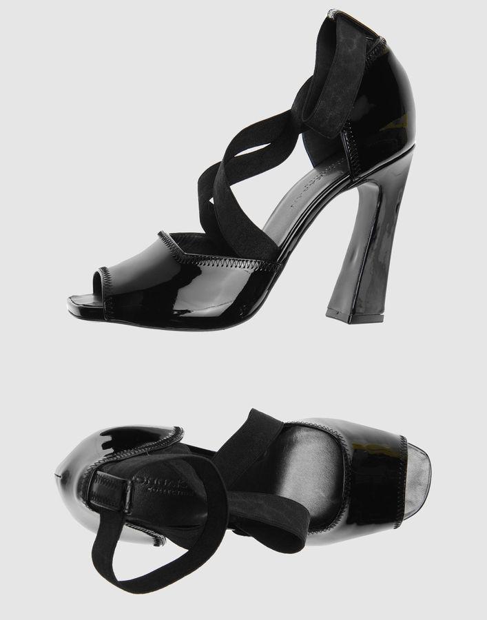 DONNA KARAN High-heeled sandals
