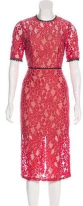Alexis Lace Midi Dress w/ Tags