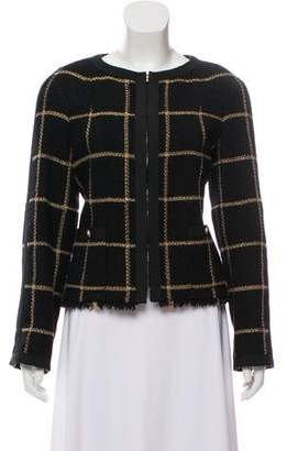 Chanel Patterned Wool Jacket