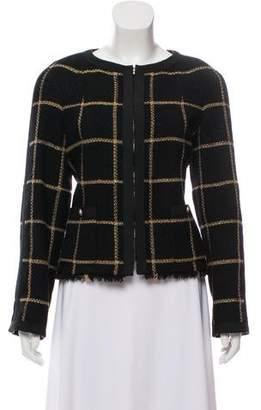 Chanel Patterned Wool Jacket