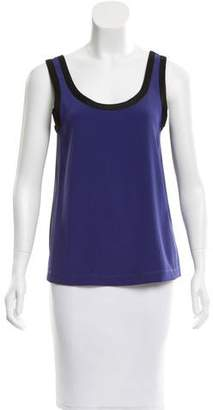 Marc by Marc Jacobs Two-Tone Mesh Top $65 thestylecure.com