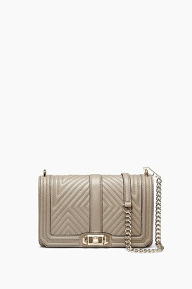 Best Seller Rebecca Minkoff Geo Quilted Love Crossbody Bag $295 thestylecure.com