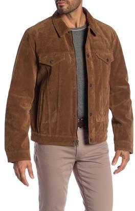 Levi's Faux Suede Classic Trucker Jacket