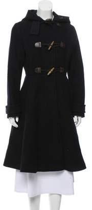 Prada Wool Hooded Coat