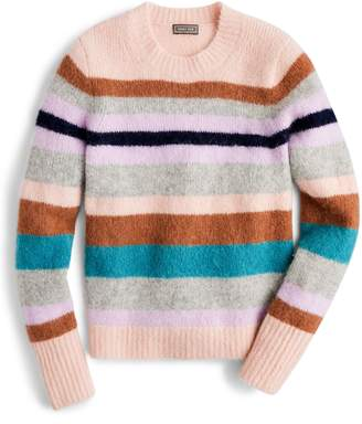 J.Crew Point Sur Stripe Alpaca & Merino Wool Blend Sweater