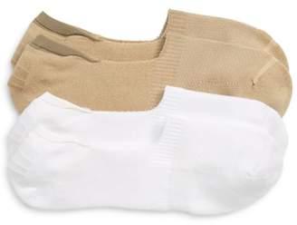 Nordstrom 2-Pack Performance Liner Socks