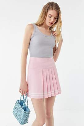 Urban Outfitters Serena Pleated Mini Tennis Skirt