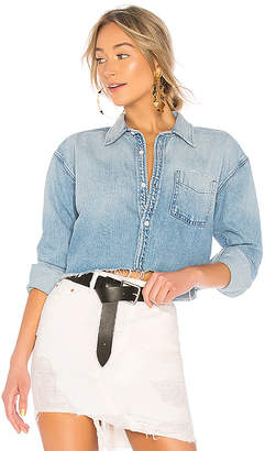 GRLFRND Christy Crop Shirt.