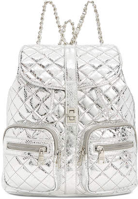 Steve Madden Hollie Quilted Metallic Backpack