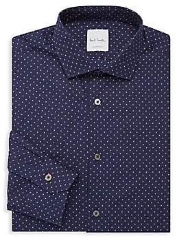 Paul Smith Men's Slim-Fit Dot Button-Down Shirt