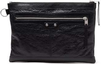 Balenciaga Leather Clutch Bag 273022
