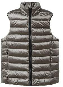 Violeta BY MANGO Pocketed quilted gilet