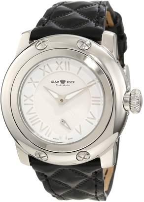 Glam Rock Women's GR40027 Palm Beach Enamel Dial Watch