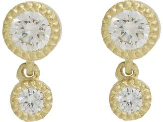 Tate Women's Diamond Double-Drop Earrings
