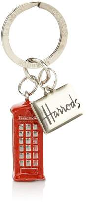 Harrods Phone Box Key Ring