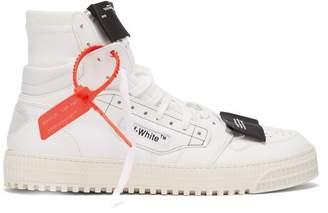 Off-White Off White Off Court High Top Trainers - Mens - White
