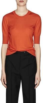 Jil Sander Women's Cashmere-Silk Sweater - Orange