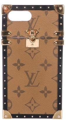 Louis Vuitton 2017 Eye-Trunk iPhone 7+ Case brown 2017 Eye-Trunk iPhone 7+ Case