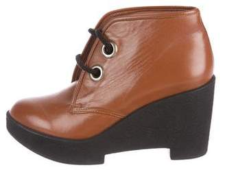 Robert Clergerie Clayb Wedge Oxfords