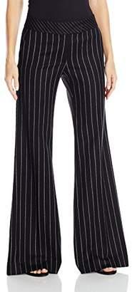 Rachel Zoe Women's Emmeline Pinstripe Wide Leg Pant