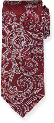 Neiman Marcus Men's Paisley Pattern Silk Tie