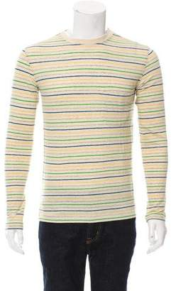 Jack Spade Striped Crew Neck T-Shirt