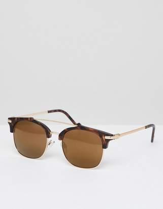 A. J. Morgan Aj Morgan AJ Morgan retro sunglasses in matte tort