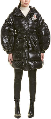 Moncler Elinor Laquer Down Coat
