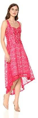 Jax Women's Lace Dress with High-Low Hem