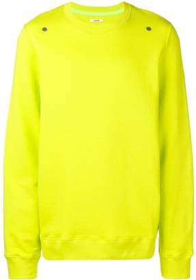Zilver Round Neck Sweatshirt in Organic Cotton