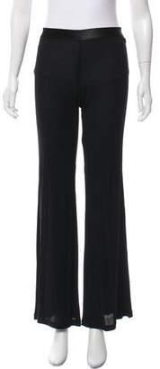 Jean Paul Gaultier Semi Sheer Mid-Rise Pants