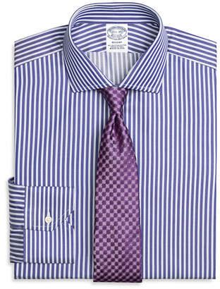 Brooks Brothers Regent Fitted Dress Shirt, Split Stripe