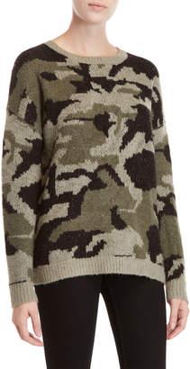 Workshop Camouflage Long Sleeve Sweater