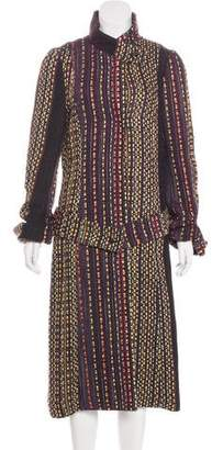 Christian Lacroix Long Woven Coat