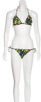 Mara Hoffman Tie-Dye Two-Piece Swimsuit