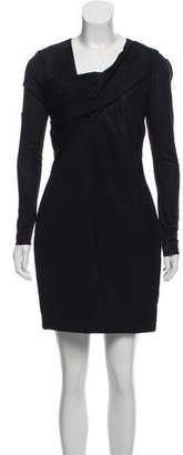 Helmut Lang Long Sleeve Mini Dress