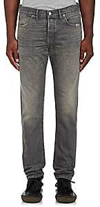 RRL Men's Slim Narrow Jeans-Dark Gray