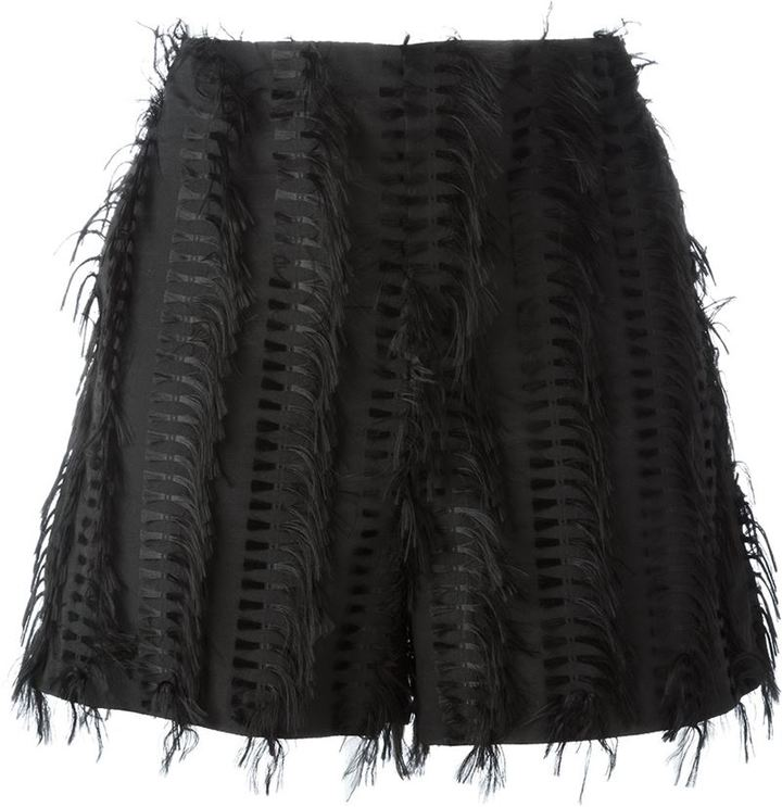 Chalayan Chalayan 'Nothing' frayed shorts